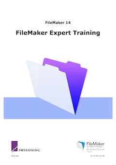 Handleiding FileMaker Expert Training voor FileMaker 14